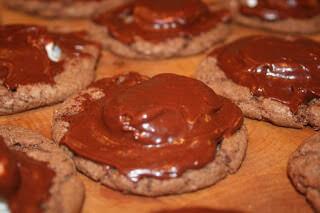 Chocolate Marshmallow Cookies