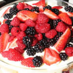 Lemon Curd Berry Trifle