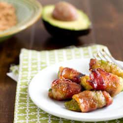 bacon wrapped Avocados