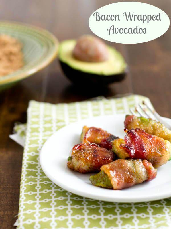 Bacon Wrapped Avocados