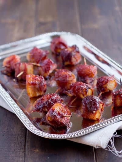 Bacon Wrapped Water Chestnuts recipe