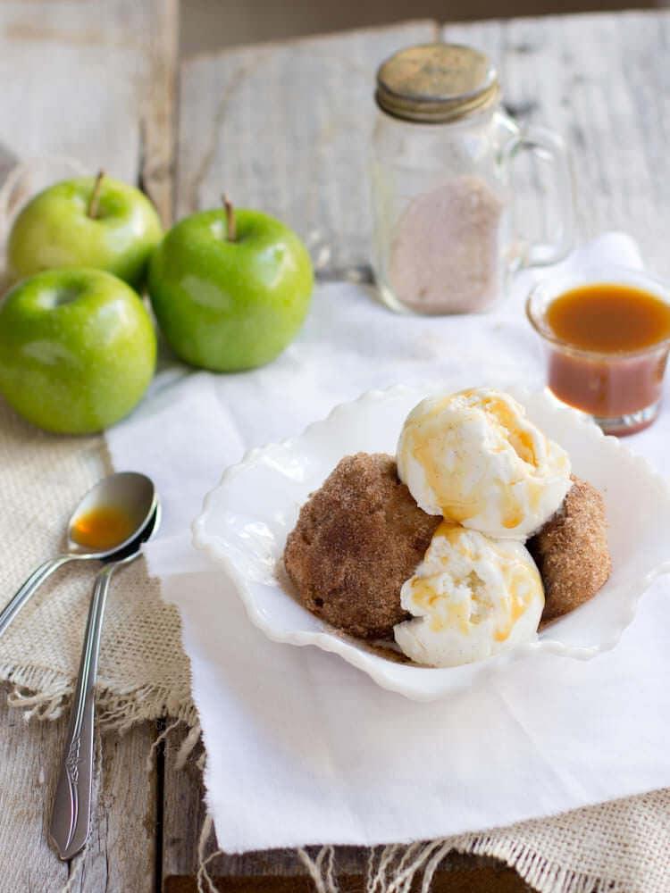 deep fried apple pie
