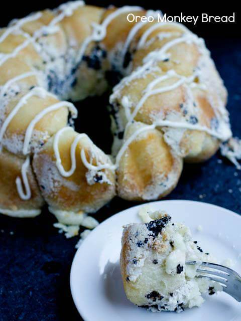 oreo monkey bread recipe