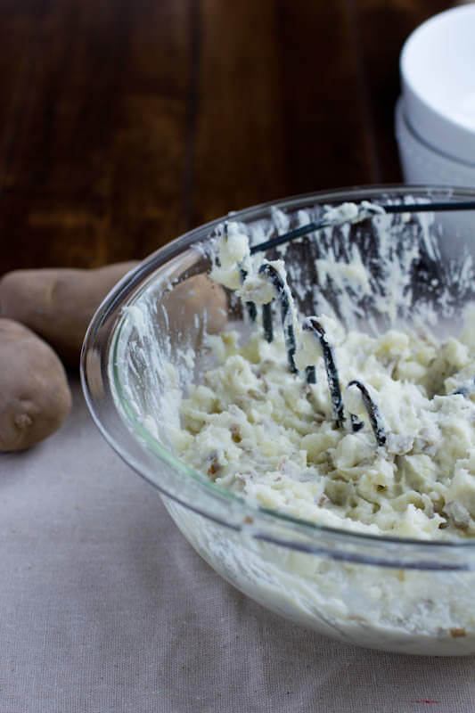 Steakhouse Smashed Potatoes