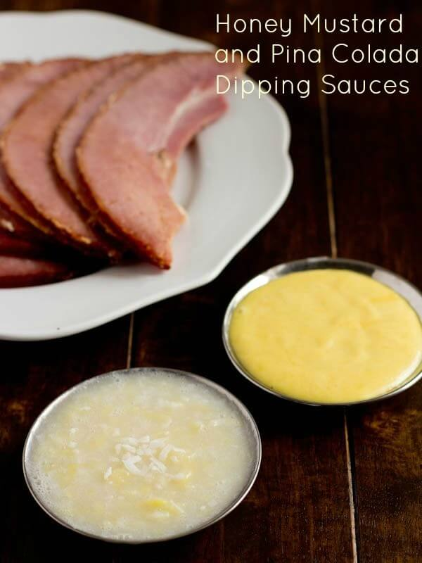 World's Best Brown Sugar Ham Honey Mustard Sauce | Oh Sweet Basil