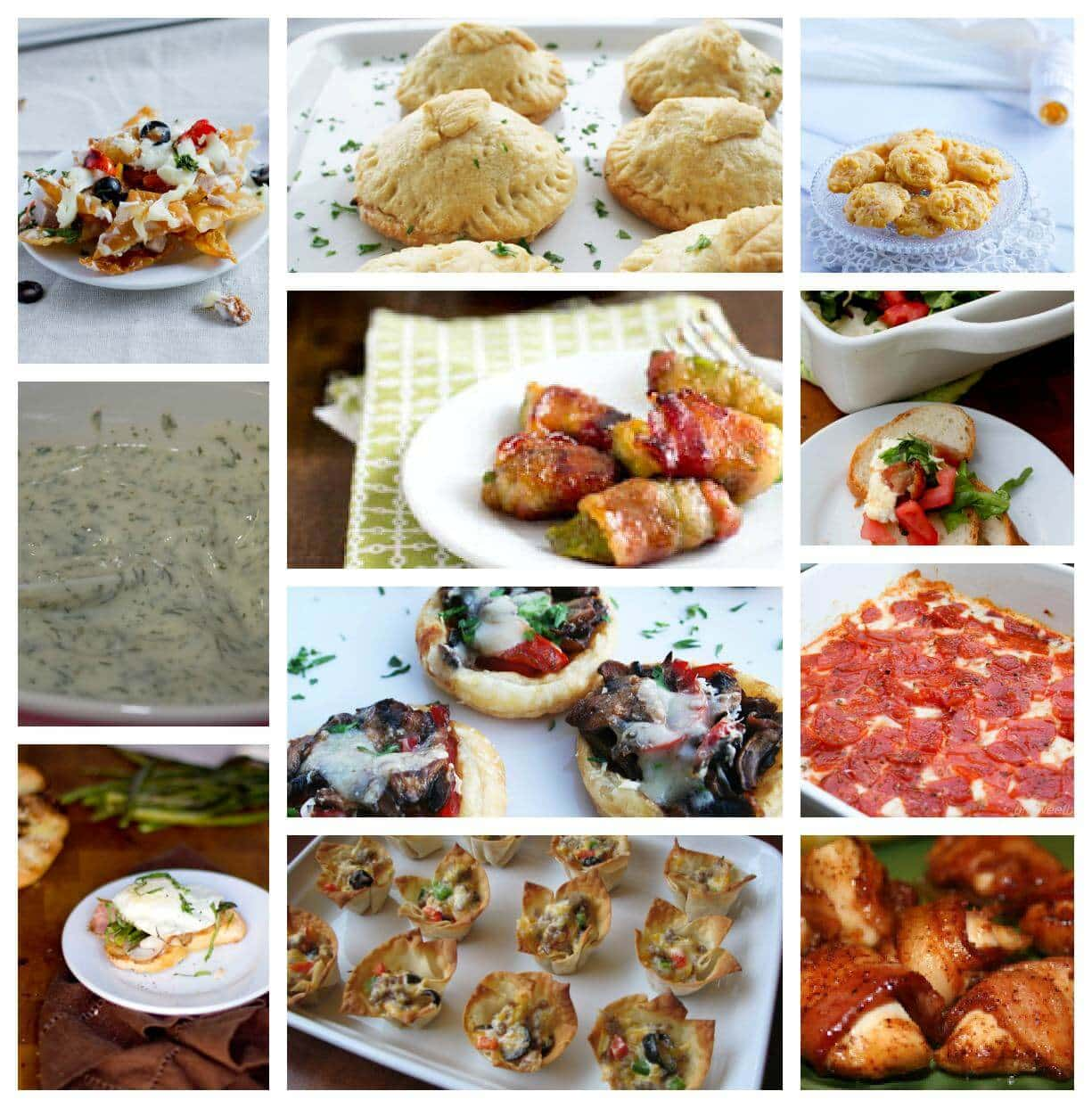 New Year's Eve Party Appetizer Ideas ohsweetbasil.com - Oh ...
