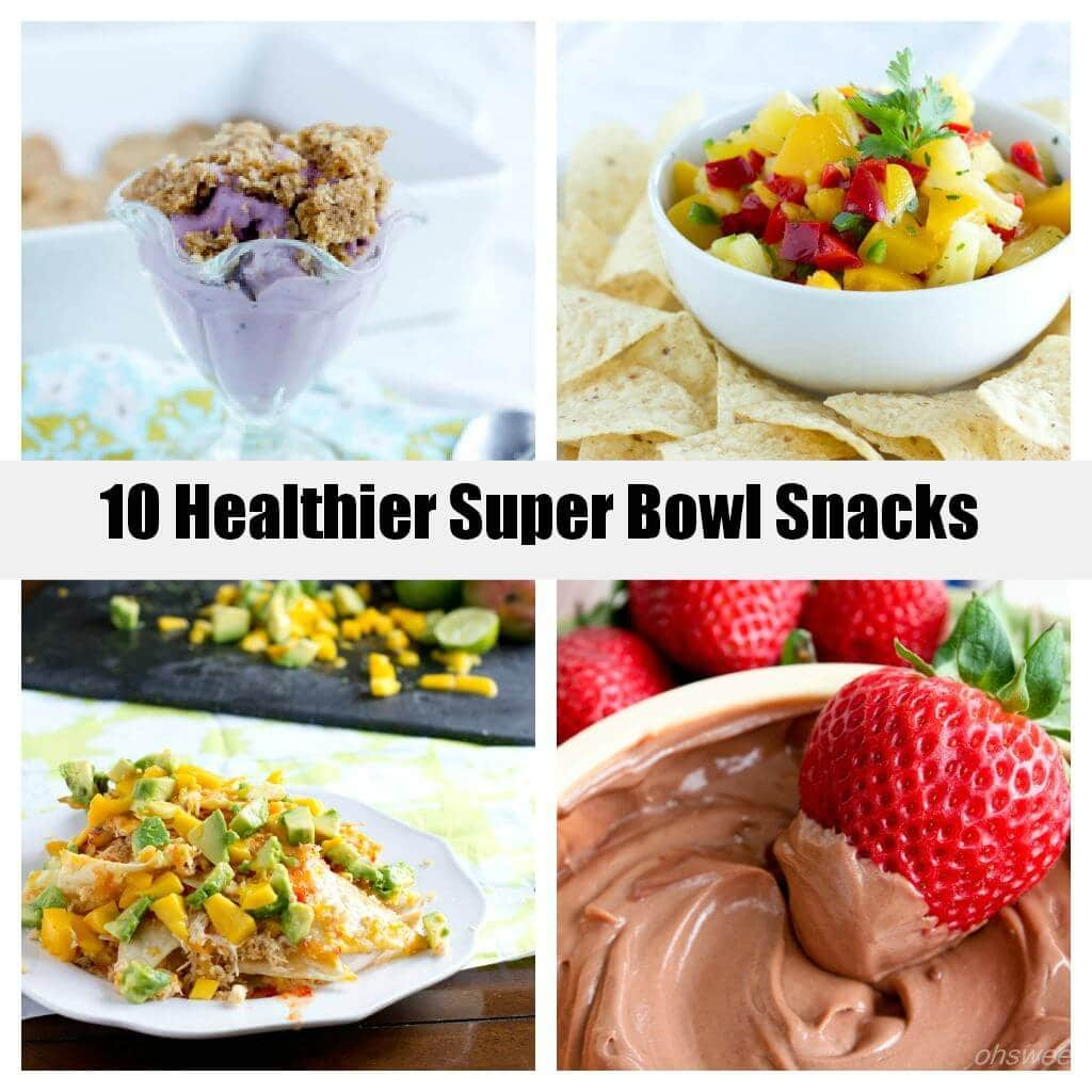 10 Healthy Super Bowl Snacks