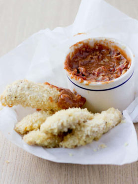 BBQ Bacon Cheddar dipping sauce ohsweetbasil.com