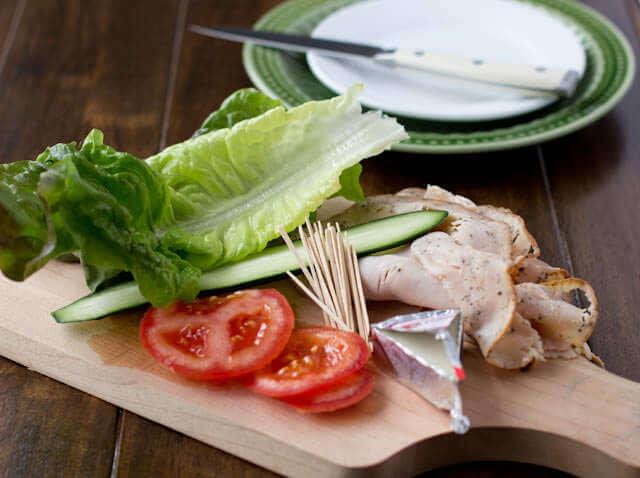 peppered turkey pinwheels ohsweetbasil.com
