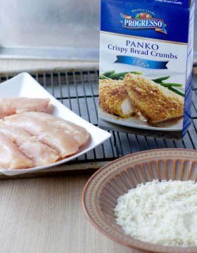 panko bread crumbs ohsweetbasil.com