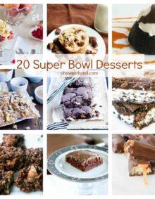 20 super bowl desserts ohsweetbasil.com