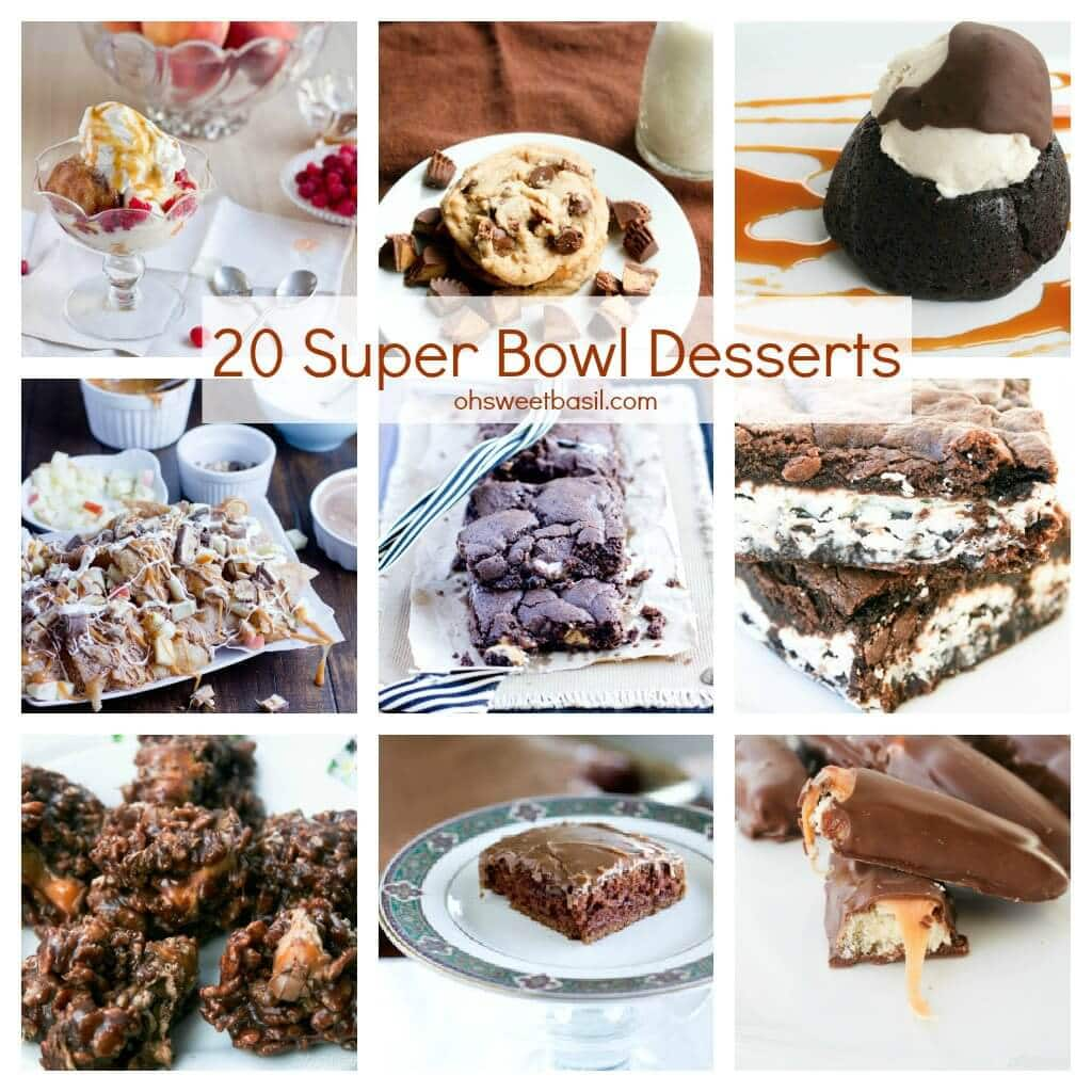 40 Must Make Super Bowl Recipes  Oh Sweet Basil