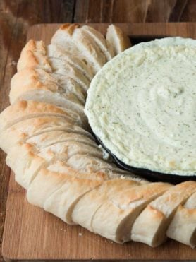 Our family's favorite artichoke dip ohsweetbasil.com