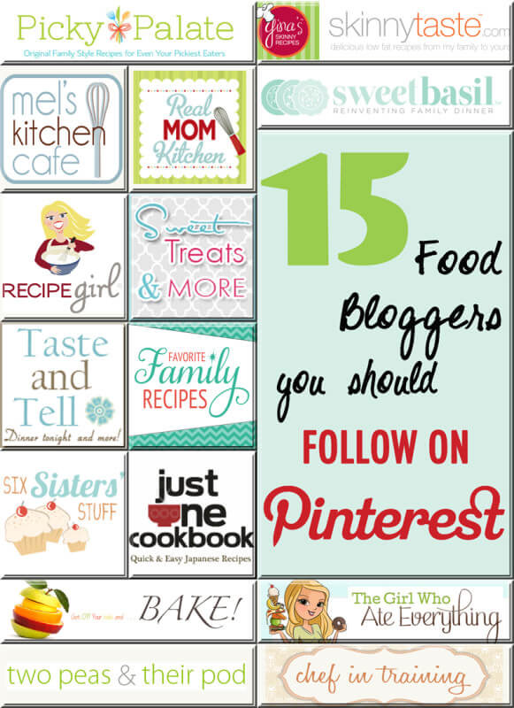 15 food blogs to read