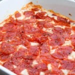 pizza dip recipe ohsweetbasil.com