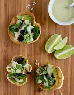 Healthified taco salad ohsweetbasil.com