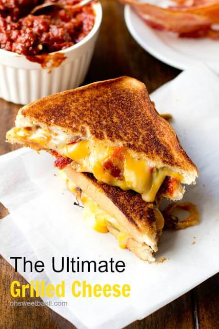 the ultimate grilled cheese with manwich ohsweetbasil.com