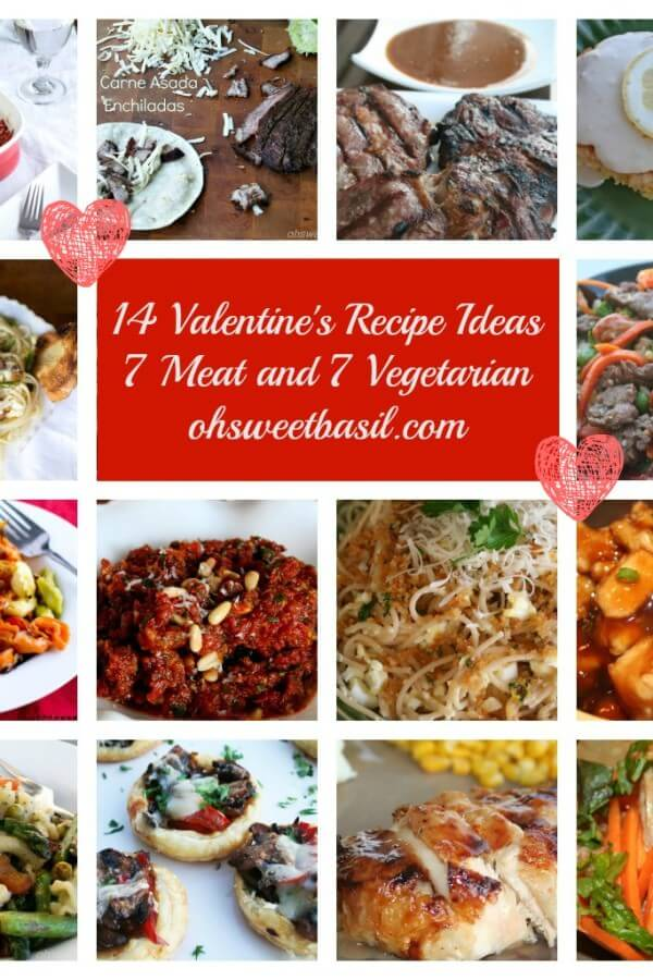valentine's day recipe ideas ohsweetbasil.com