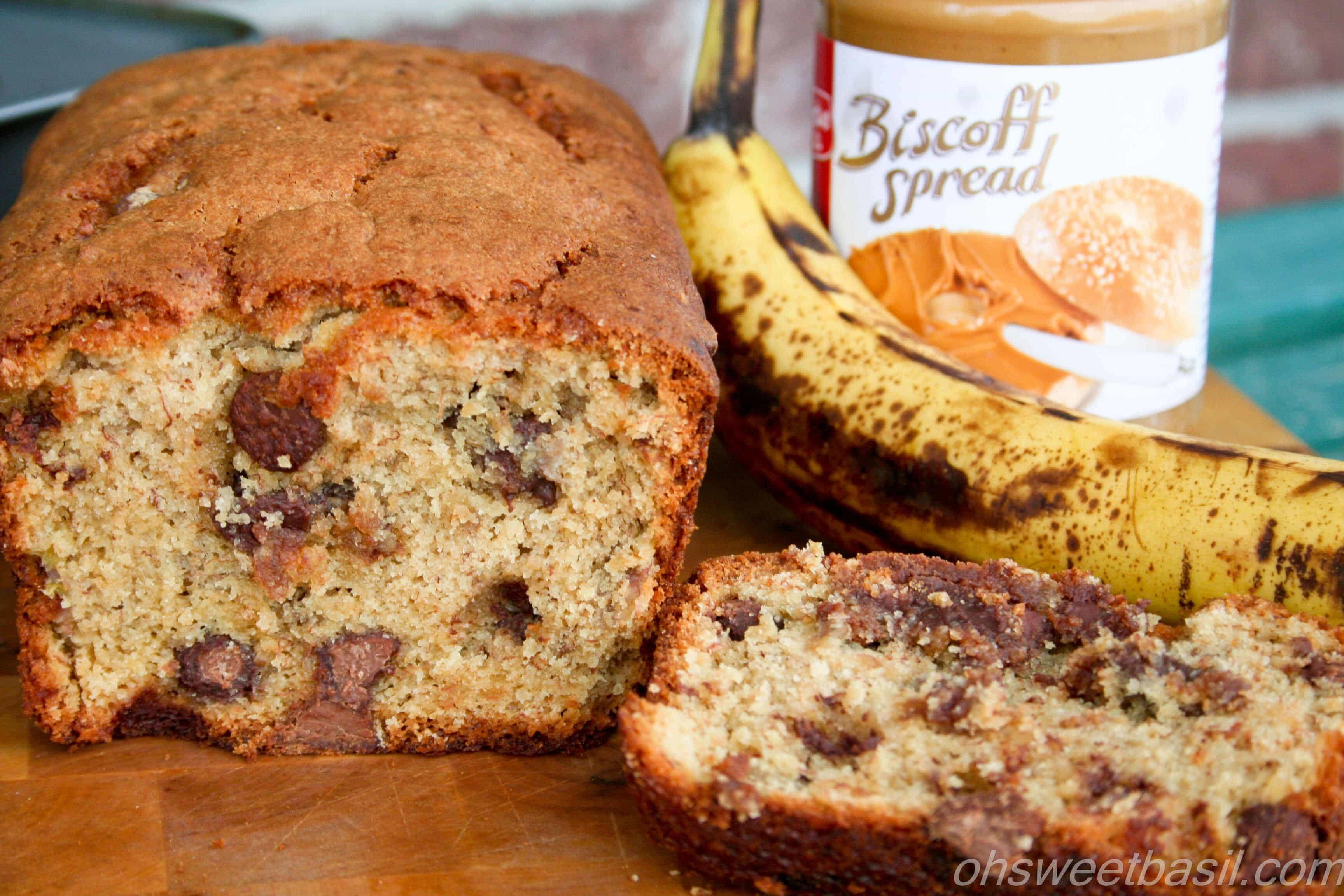 Biscoff Banana Bread ohweetbasil.com