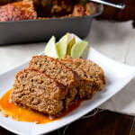#Turkey Enchilada Meatloaf with a secret ingredient that keeps this meal moist and delicious. #recipe ohsweetbasil.com