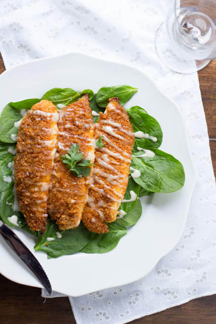 Citrus Lime breaded Tilapia #healthy #recipe #seafood ohsweetbasil.com