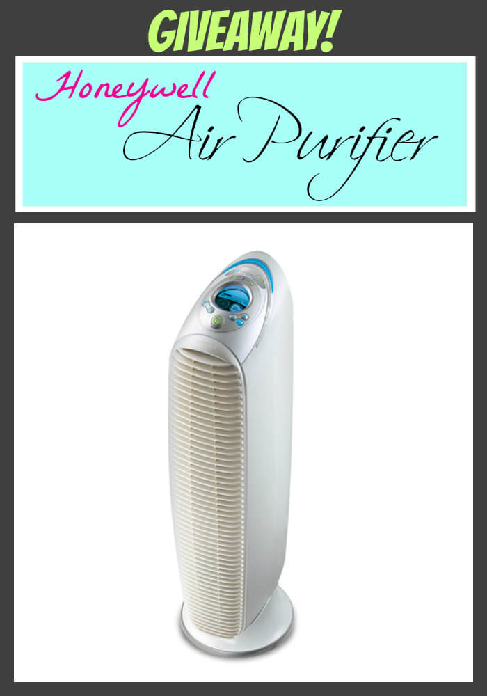 Giveaway!  Honeywell Air Purifier