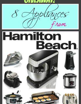 Hamilton Beach Appliances Giveaway