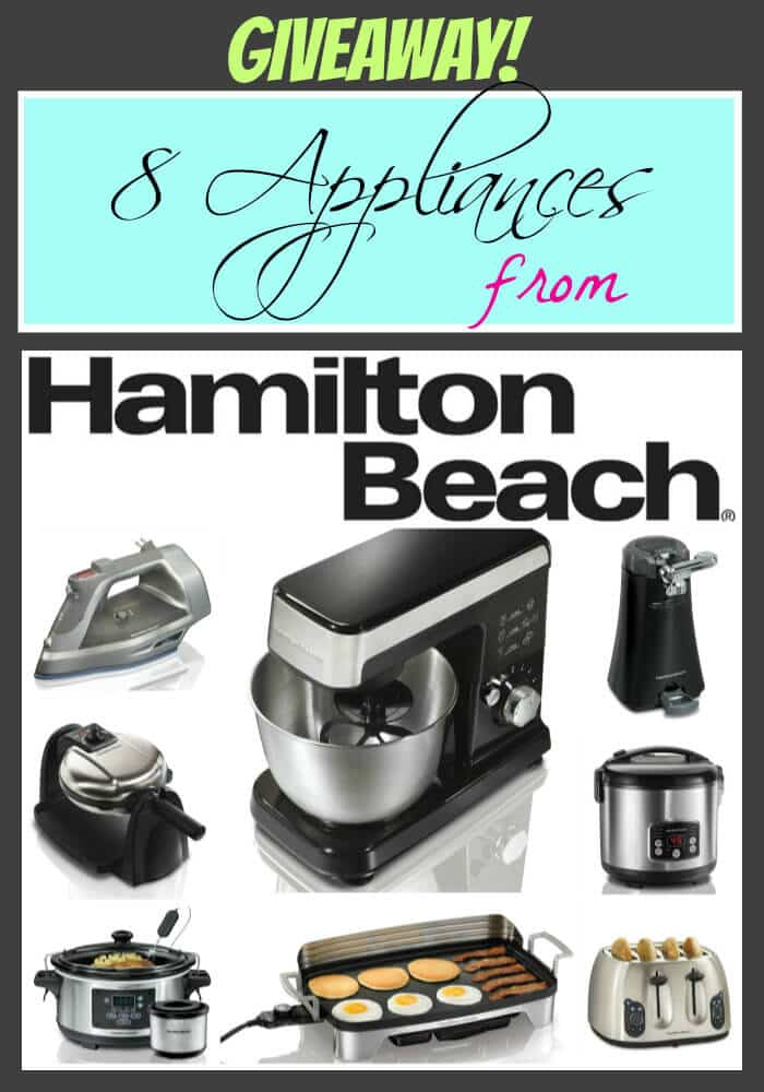 Hamilton Beach Appliances Giveaway