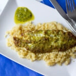 Lean Pesto Tilapia