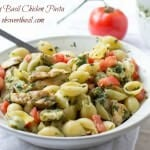 Chicken Pasta with Lemon Basil