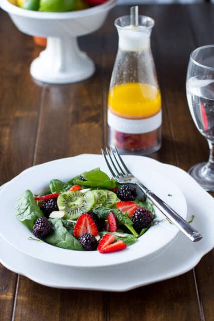 infused salad dressing salad zinger osweetbasil.com