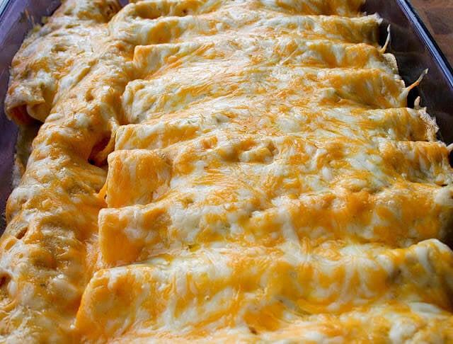 Honey Lime Chicken Enchiladas-2