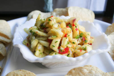 pineapple salsa ohsweetbasil.co