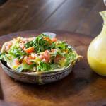 Sweet Pork Salad with Mango Dressing