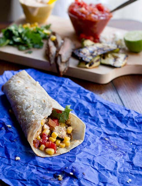 Zucchini and Steak Burrito-2
