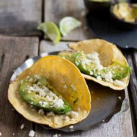 Grilled Avocado Tacos