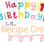 The Recipe Critic's Anniversary Giveaway