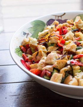 Creamy Dill Panaznella saladohsweetbasil.com-3