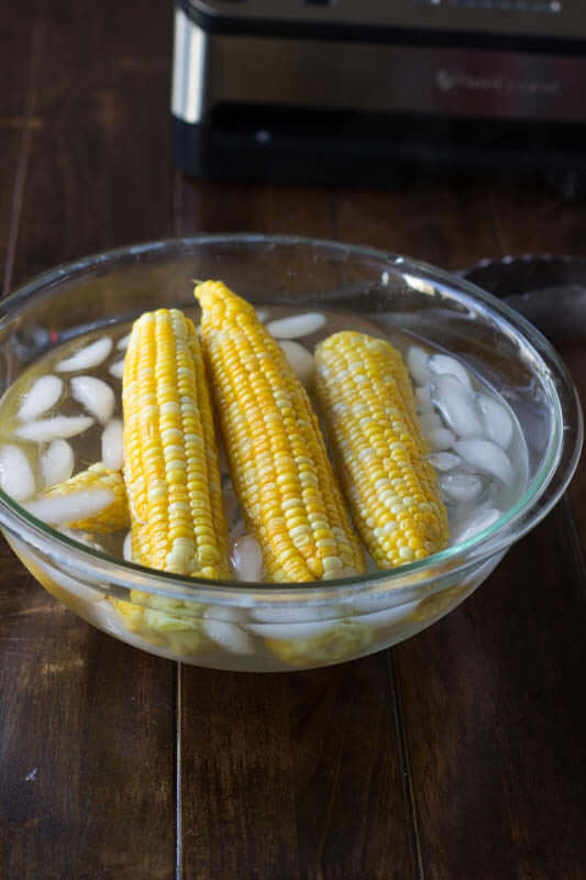 Freezing corn in a #foodsaver is on eof the smartest things you can do for your budget ohsweetbasil.com_-2