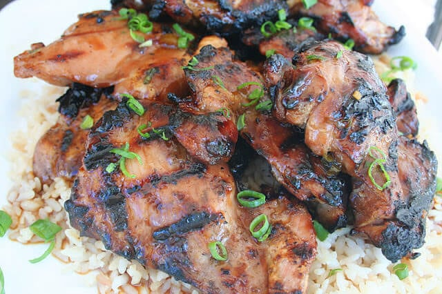 Sticky Honey Lime Grilled Chicken - Oh Sweet Basil