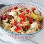 Heirloom Berry Quinoa Salad