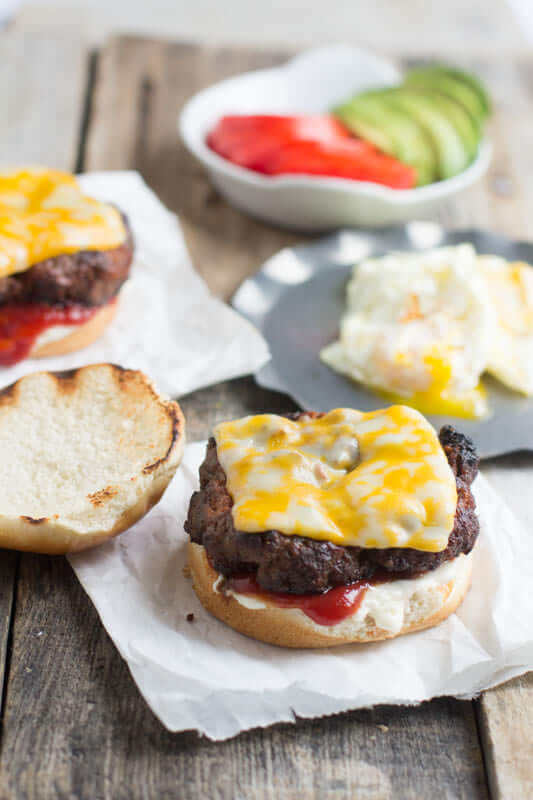 The #Brazil Burger. This is the best dang #burger we have ever devoured! So delicious. And the burger, yup it has a #secret #ingredient. TRY IT!! ohsweetbasil.com_-3