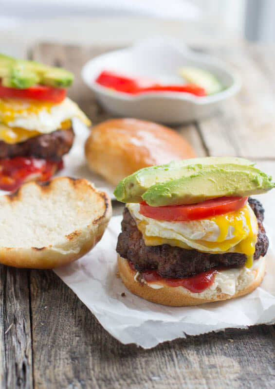The #Brazil Burger. This is the best dang #burger we have ever devoured! So delicious. And the burger, yup it has a #secret #ingredient. TRY IT!! ohsweetbasil.com_-5