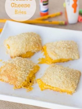 Grilled Cheese Bites for the perfect afterschool #snack ohsweetbasil.com-2