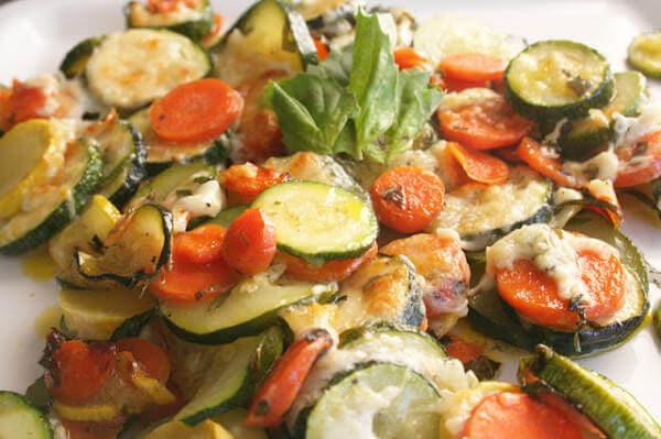 basil roasted veggies