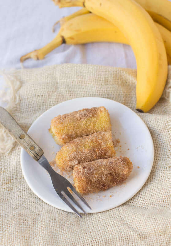 #copycat #Tucanos #fried Bananas! We got to Tucanos every year for my husband's birthday and the fried bananas are amazing. Now we make them at home. ohsweetbasil.com
