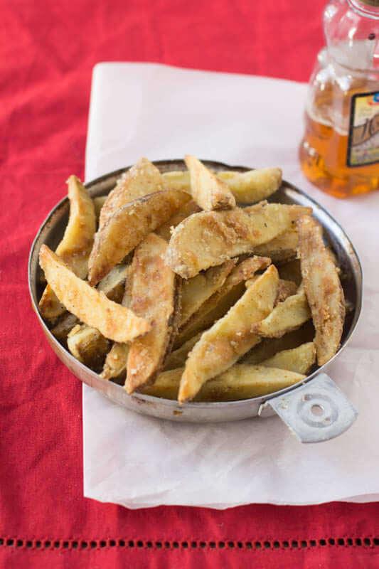Jo jo's Recipe #copycat #recipe Safeway has nothing on these jojos!! Crispy, tender potato wedges just like your favorite grocery store ohsweetbasil.com