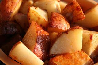 honey roasted potatoes