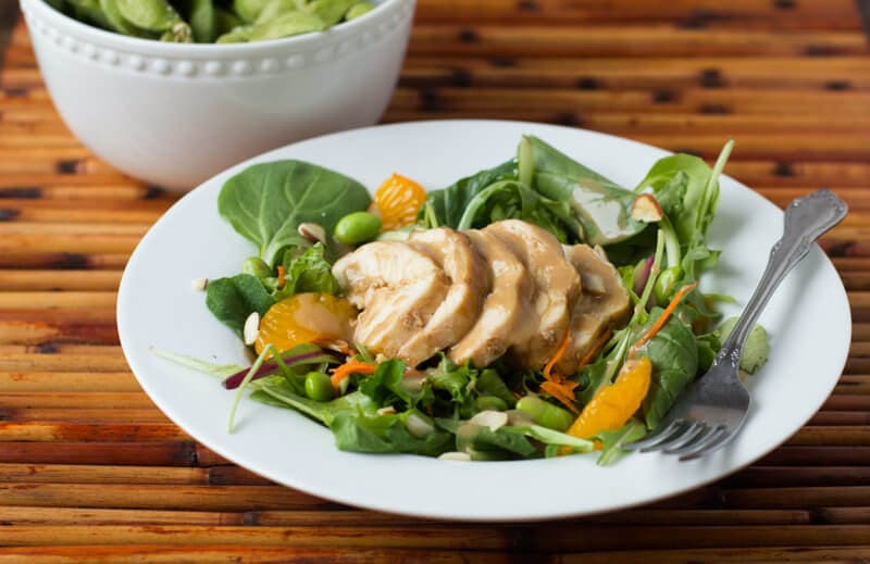 Organic girl teriyaki ginger salad oh sweet basil forumfinder Choice Image