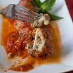 Easy Mozzarella Stuffed Turkey Meatballs